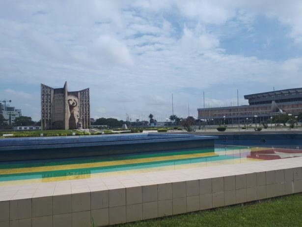 Independence Square in Lome, Togo