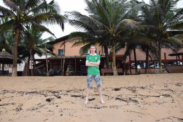 Total relaxation at the Coco Beach Hotel in Togo