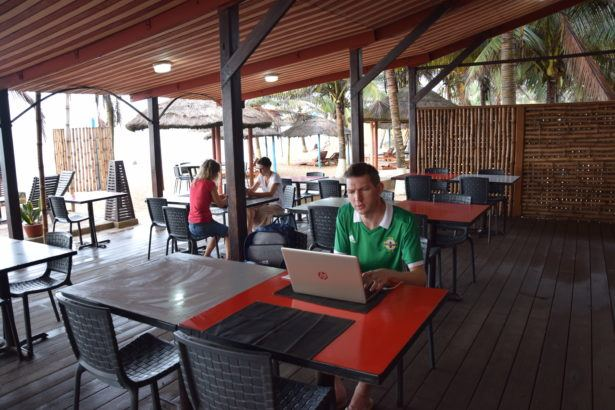 Working in Togo