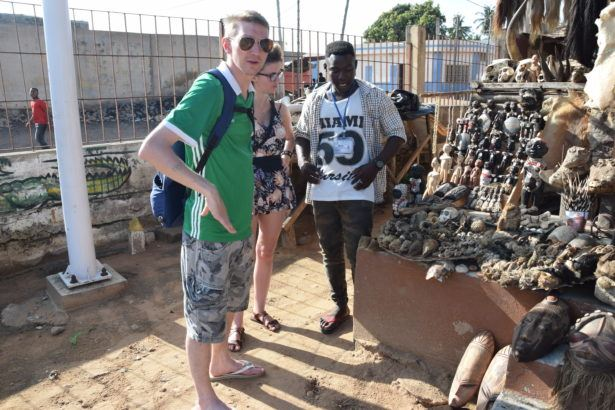 Backpacking in Togo: Touring the Akodessawa Fetish Market in Lomé