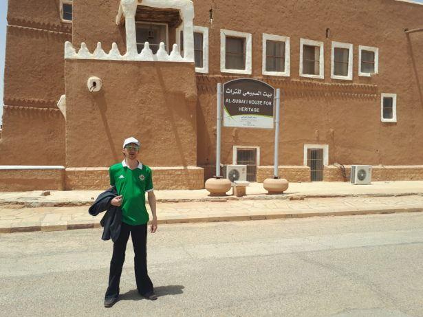 Touring Shaqra, Saudi Arabia