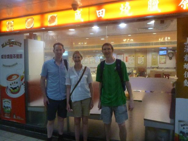 Last photo of me (without Panny) in Hong Kong before I left in 2015. With Chris and Alison. Chris, is Northern Irish and a lifetime friend.
