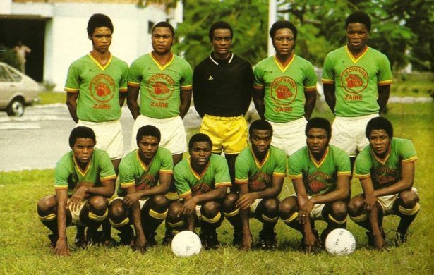 Zaire football team in 1974. I'd loved to whackpack modern day DR Congo
