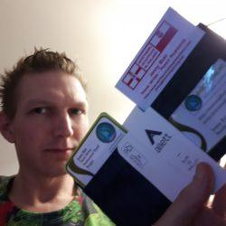 Travel Essentials: My New Wallet from Allett Wallets
