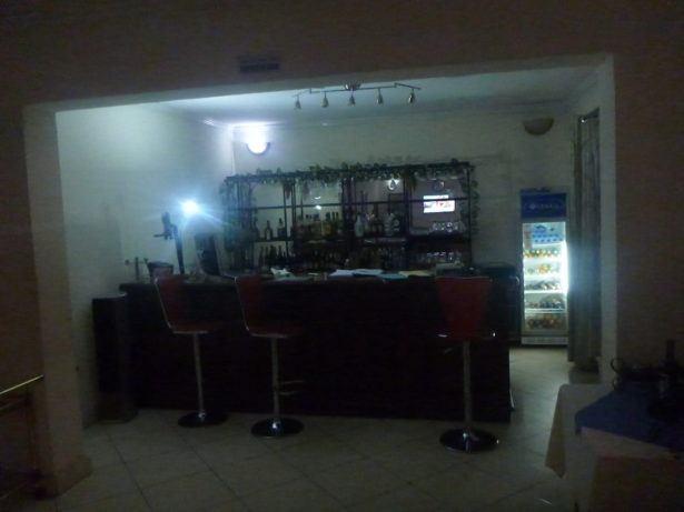 My bar in DR Congo at the Hotel Horizon, Bukavu