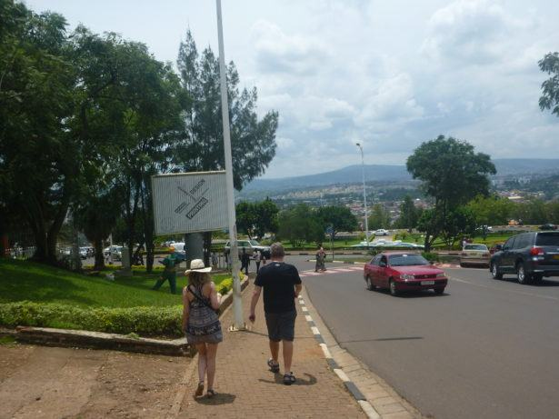 """Downtown Kigali"" is really Uptown Kigali"