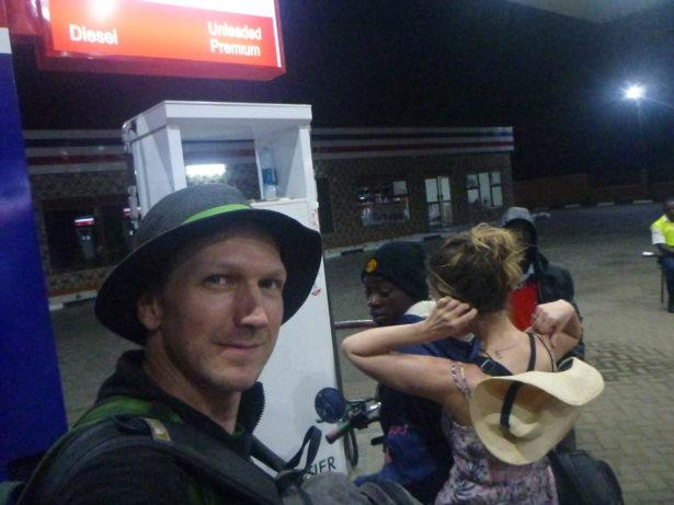 A tired arrival back into Uganda