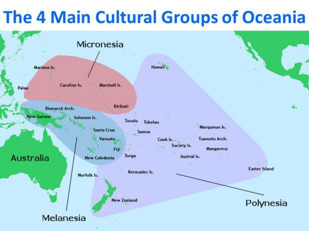 New countries to visit in Oceania and Pacific