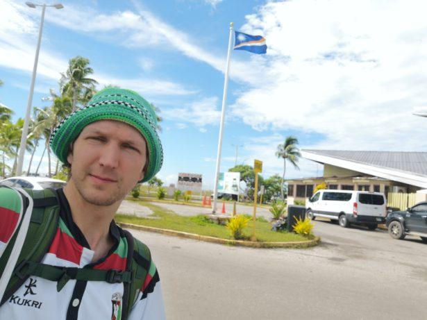 Backpacking in Majuro, Marshall Islands