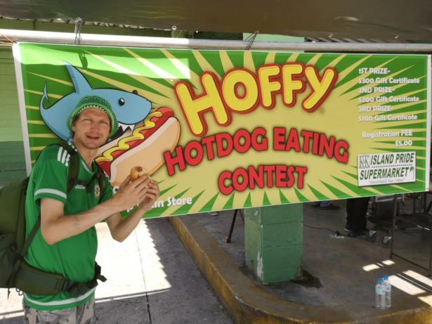 The Annual Hoffy Hot Dog Eating Contest in Majuro, Marshall Islands