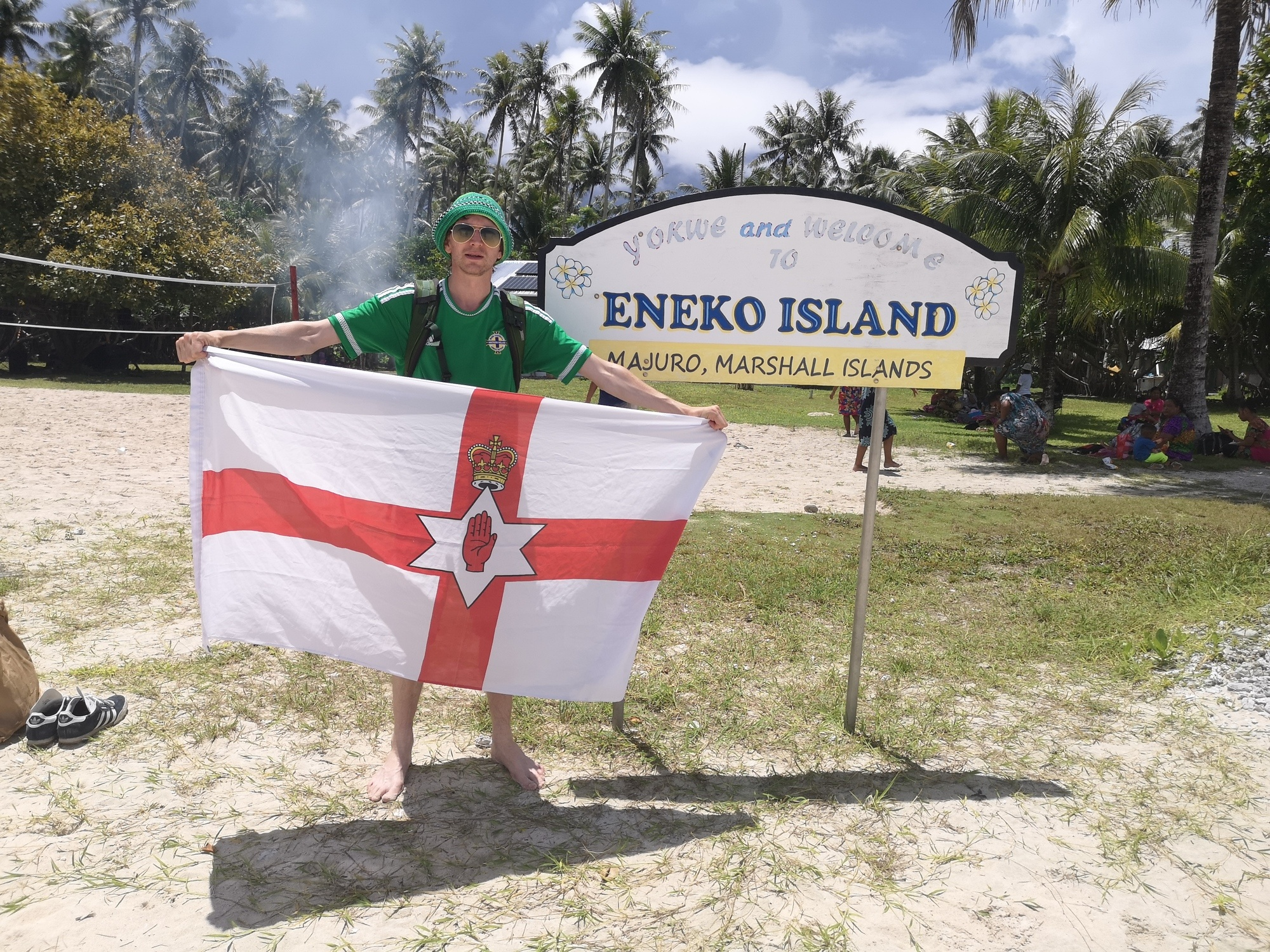 Backpacking in Marshall Islands: Touring Eneko Island