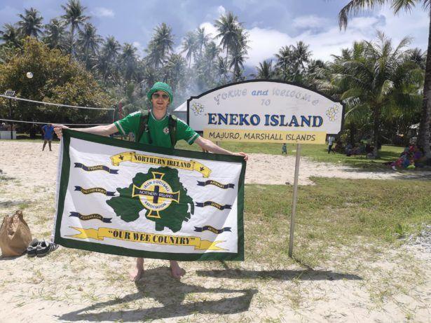 Backpacking in Marshall Islands: Touring Eneko Island