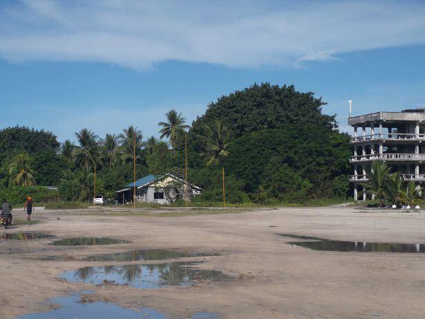 "The AFL ""stadium"" (pitch) in Anetan province, Nauru"