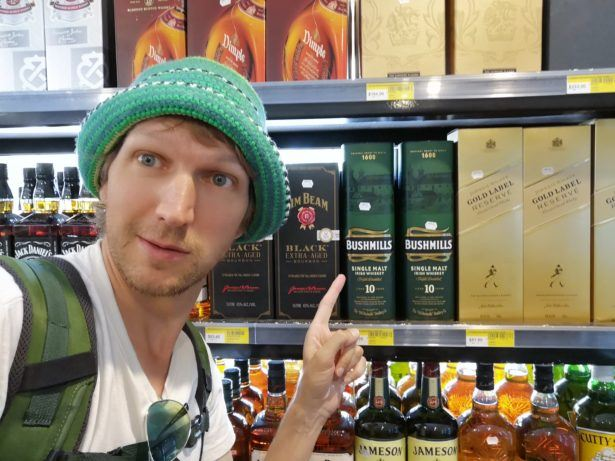 Bushmills Northern Irish Whiskey here in Ronave, Ewa, Nauru!!