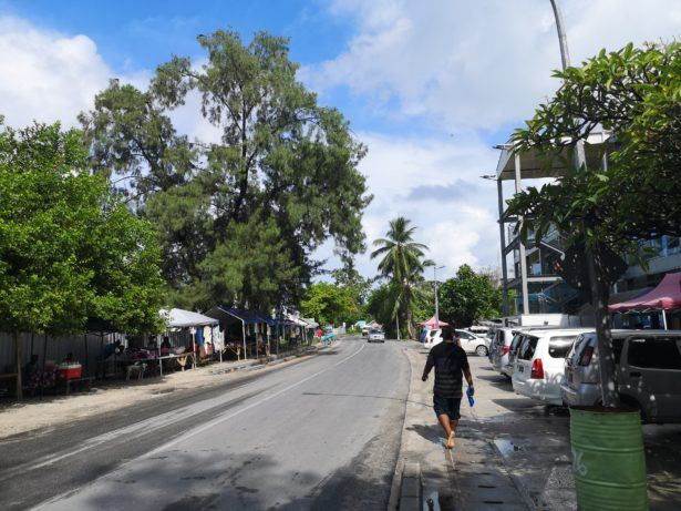 Backpacking in Kiribati - Bairiki