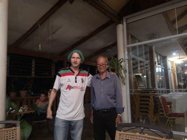Sir Thomas Chan meets Sir Jonny Blair, Northern Irishman in Poland