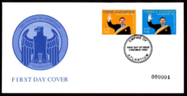 Empire of Atlantium passport stamp