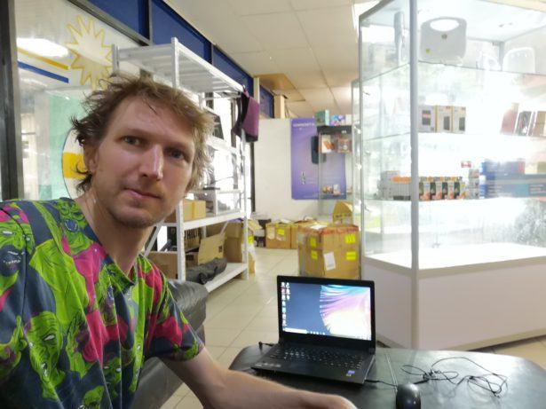 Cenpacnet Internet Cafe, Aiwo, Nauru
