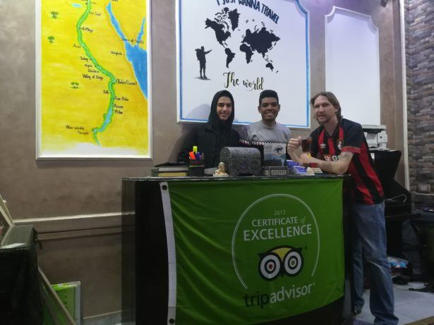 Backpacking in Egypt: Staying at the Australian Hostel in Cairo