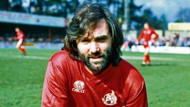 George Best playing for AFC Bournemouth in 1983