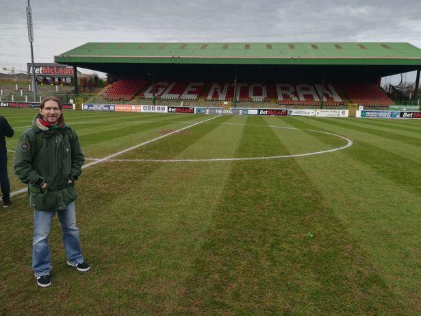 Glentoran FC best team in Belfast