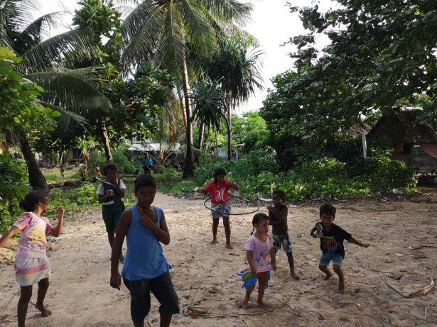 Betio Beachside Neighbourhood, Kiribati