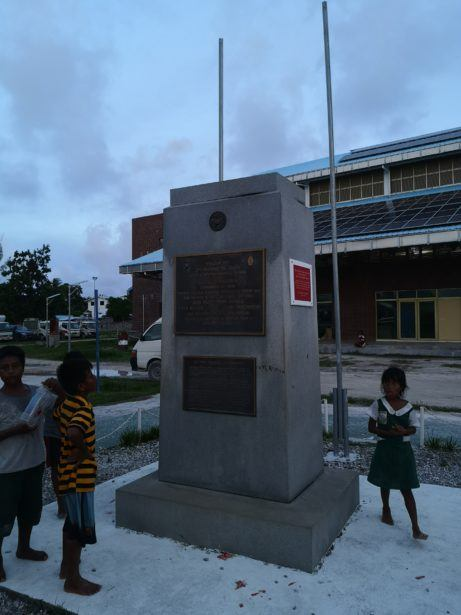 American War Memorial, Betio, Kiribati
