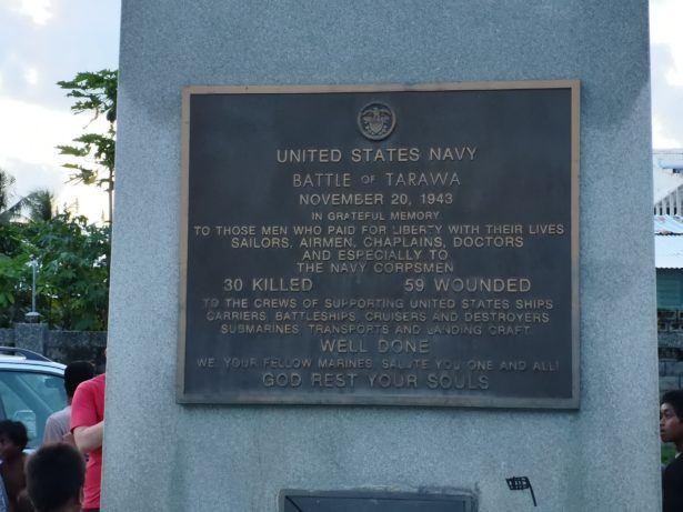 American War Memorial, Betio, Kiribati