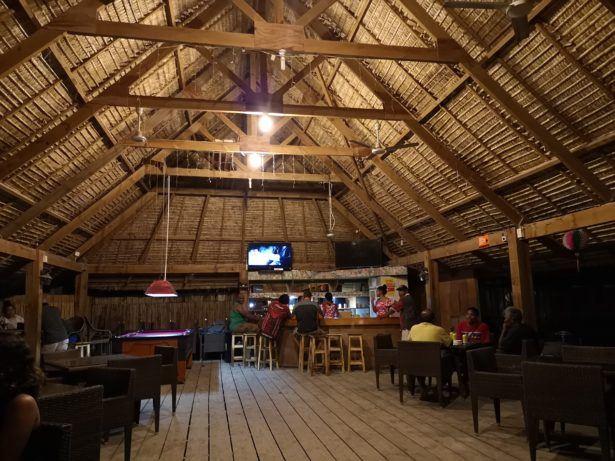 The George Hotel in Betio, Kiribati
