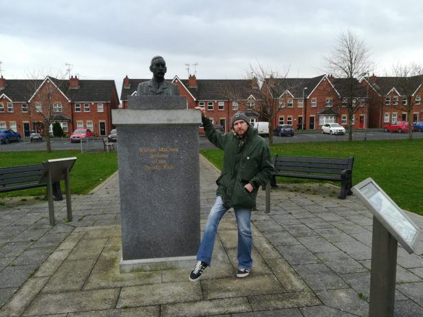 Visiting The Home of the Penalty Kick: Milford, County Armagh, Northern Ireland and William McCrums Legacy