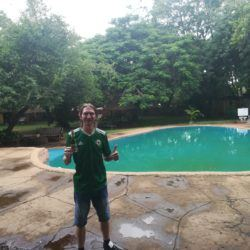 Backpacking in Zimbabwe: Staying at Shoestrings Backpackers Hostel in Victoria Falls City