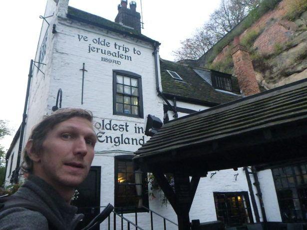 Ye Olde Trip to Jerusalem, Nottingham - perfect date in England's oldest pub?!