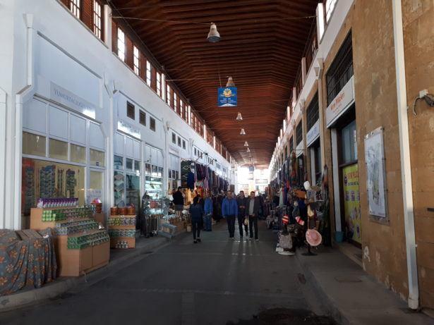 The Old Bazaar in Turkish Nicosia, Northern Cyprus