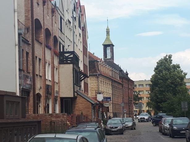 Downtown Elbląg, Poland