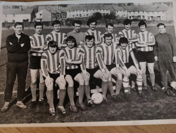 Dunmurry Recreation FC 1960s.