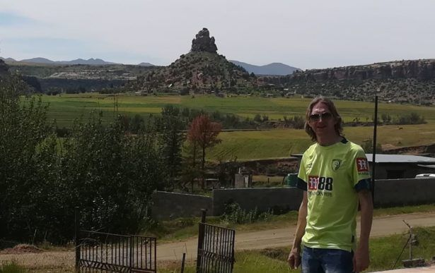 Backpacking in Lesotho - Qiloane Hill