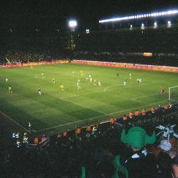 Sweden away in 2007 - a superb 1-1 draw