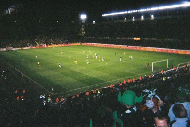 Sweden away in 2007 - a superb 1-1 draw
