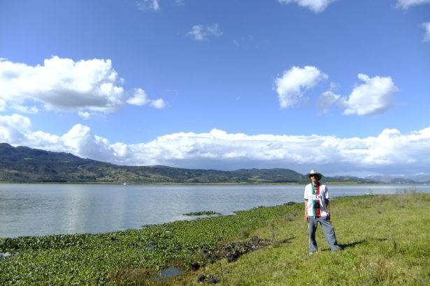 The beauty of Laguna Guatavita in Colombia!
