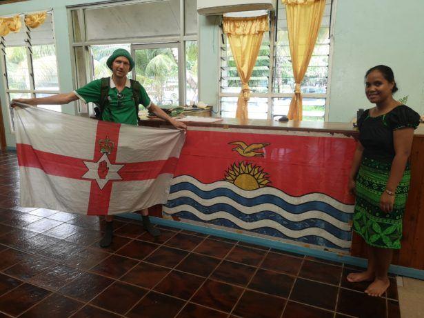 Backpacking in Kiribati: Touring Te Umanibong, National Cultural Museum in Bikenibeu