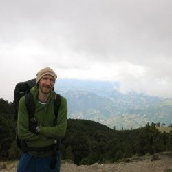 Backpacking up Tajamulco in Guatemala - highest point in Central America