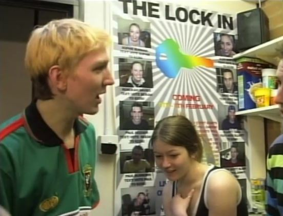Taking part in the Lock in, ENGLAND (2004)