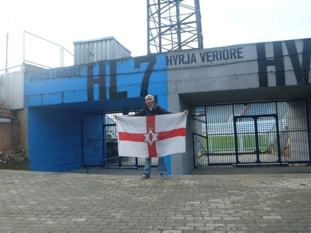 National Stadium Before FIFA Recognised KOSOVO