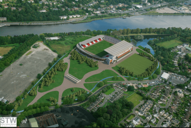 Pairc ui Chaiomh where Oasis played live in Cork, Republic of Ireland, 1996