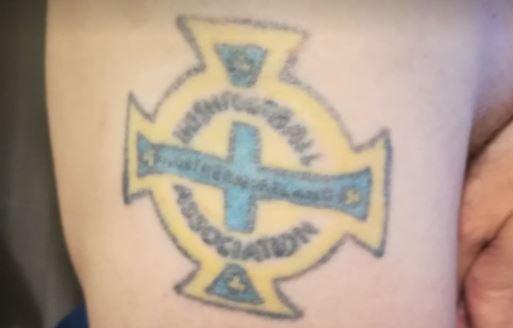 Tattoo Northern Ireland badge