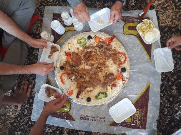 Friday's Featured Food: Saudi Arabia: Camel Lunch in Riyadh