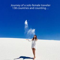 Latest Travel Book From Ashleybaby, The Krazy Koala! One Million Miles: Journey of a solo female traveler 138 countries and counting…