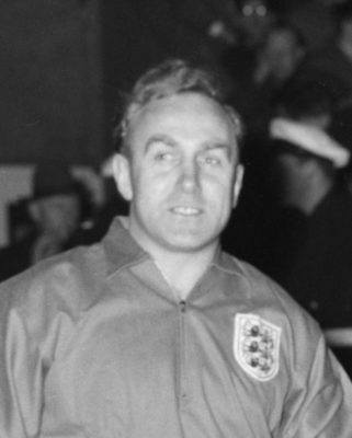Billy Wright (The Maze Prison FC and England 1950)