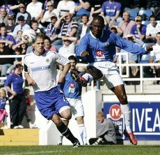 David Atiba Charles (Glenavon and Trinidad and Tobago 2006)