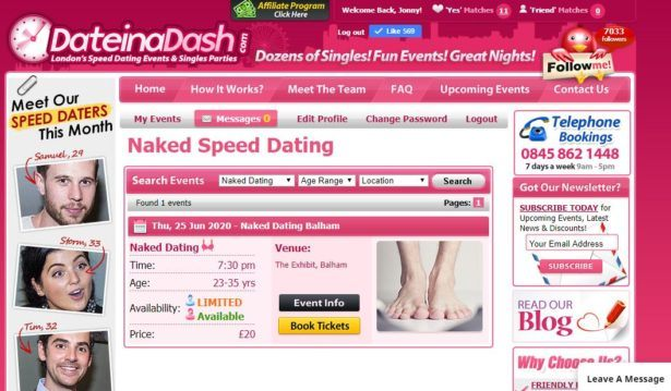 Dating Online During Lockdown: Virtual Speed Dating With Date In a Dash!